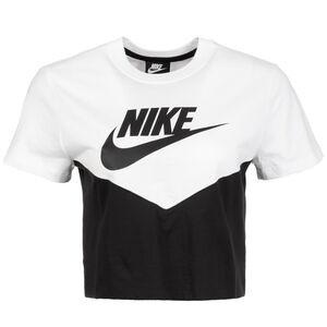 Sportswear Heritage T-Shirt Damen, schwarz / weiß, zoom bei OUTFITTER Online