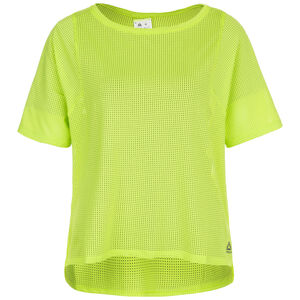 Perforated Trainingsshirt Damen, hellgrün, zoom bei OUTFITTER Online