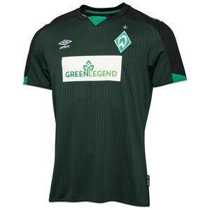 SV Werder Bremen Trikot 3rd 2021/2022 Herren, dunkelgrün / schwarz, zoom bei OUTFITTER Online