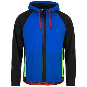 Flex Trainingsjacke Herren, blau / rot, zoom bei OUTFITTER Online