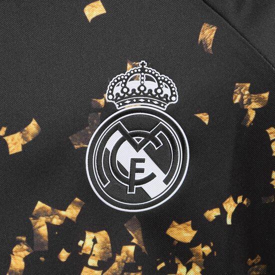 Real Madrid EA Trikot Kinder, schwarz / weiß, zoom bei OUTFITTER Online