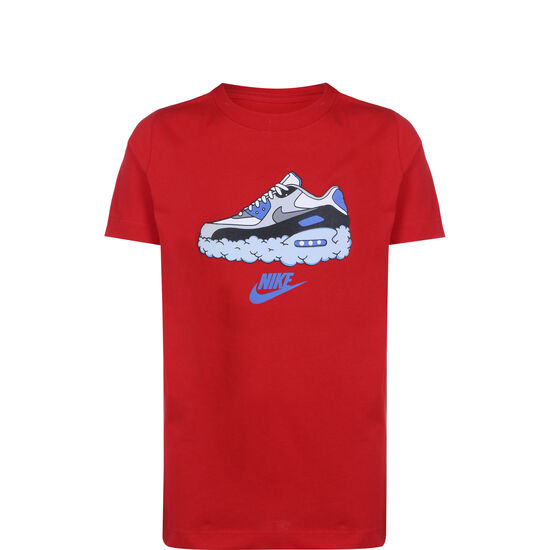AM90s Clouds T-Shirt Kinder, rot, zoom bei OUTFITTER Online