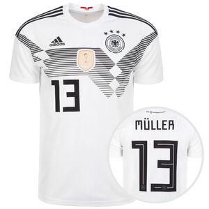 DFB Trikot Home Müller WM 2018 Herren, Weiß, zoom bei OUTFITTER Online