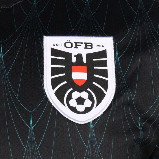 ÖFB Österreich Trikot Away EM 2020 Herren, schwarz / türkis, zoom bei OUTFITTER Online