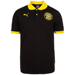 Borussia Dortmund Premium Stencil Poloshirt Herren, Schwarz, zoom bei OUTFITTER Online