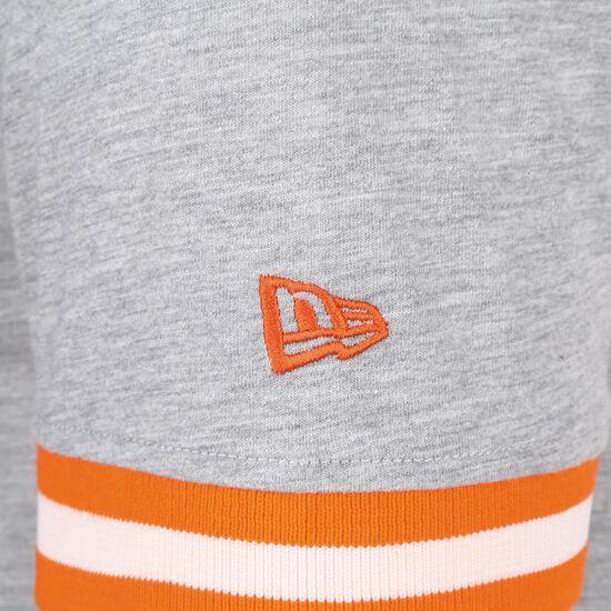 NBA Wordmark New York Knicks T-Shirt Herren, grau / orange, zoom bei OUTFITTER Online