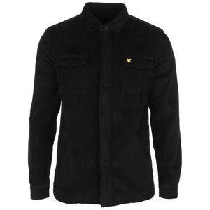 Cord Overshirt Hemd Herren, schwarz, zoom bei OUTFITTER Online