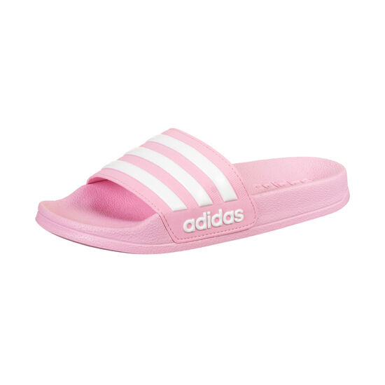 Adilette Shower Badesandale Kinder, rosa / weiß, zoom bei OUTFITTER Online