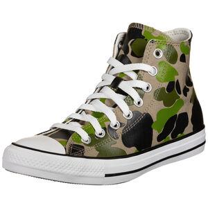 Chuck Taylor All Star High Sneaker, grün / braun, zoom bei OUTFITTER Online