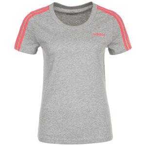 Essentials 3S T-Shirt Damen, dunkelgrau / altrosa, zoom bei OUTFITTER Online
