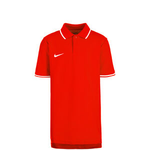 Club19 TM Poloshirt Kinder, rot / weiß, zoom bei OUTFITTER Online