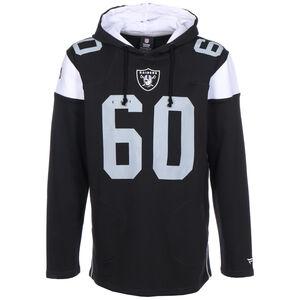 NFL Las Vegas Raiders Iconic Franchise Kapuzenpullover Herren, schwarz / weiß, zoom bei OUTFITTER Online