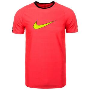 Dry Academy Trainingsshirt Herren, rot / gelb / schwarz, zoom bei OUTFITTER Online