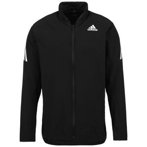 AEROREADY 3-Streifen Trainingsjacke Herren, schwarz / weiß, zoom bei OUTFITTER Online