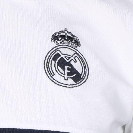 Real Madrid Poloshirt Herren, weiß / dunkelblau, zoom bei OUTFITTER Online