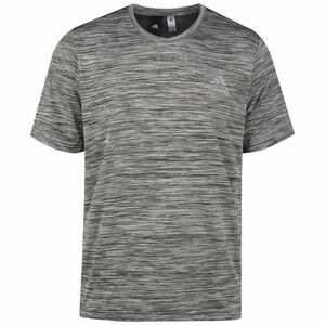 3-Streifen Trainingsshirt Herren, grau / dunkelgrau, zoom bei OUTFITTER Online