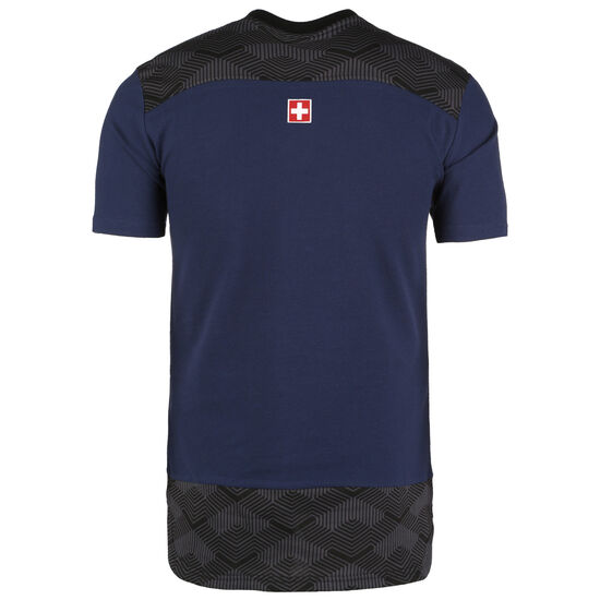 SFV Schweiz Casuals Poloshirt EM 2021 Herren, dunkelblau / anthrazit, zoom bei OUTFITTER Online