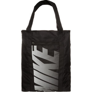 Gym Club Tote Sporttasche Damen, schwarz / weiß, zoom bei OUTFITTER Online