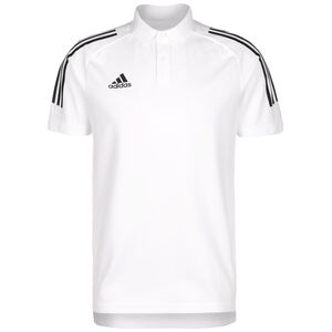 Condivo 20 Poloshirt Herren, weiß / schwarz, zoom bei OUTFITTER Online