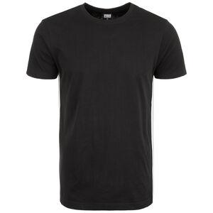 Side Taped T-Shirt Herren, schwarz / grau, zoom bei OUTFITTER Online