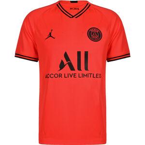 Paris St.-Germain Trikot Away Stadium 2019/2020 Herren, neonrot / schwarz, zoom bei OUTFITTER Online