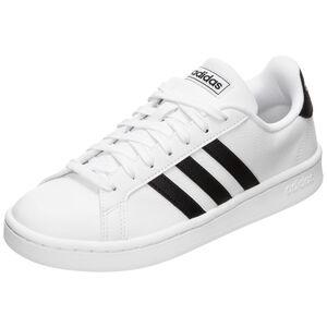 Grand Court Sneaker Damen, weiß / schwarz, zoom bei OUTFITTER Online