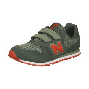 YV500 Sneaker Kinder, oliv / rot, zoom bei OUTFITTER Online