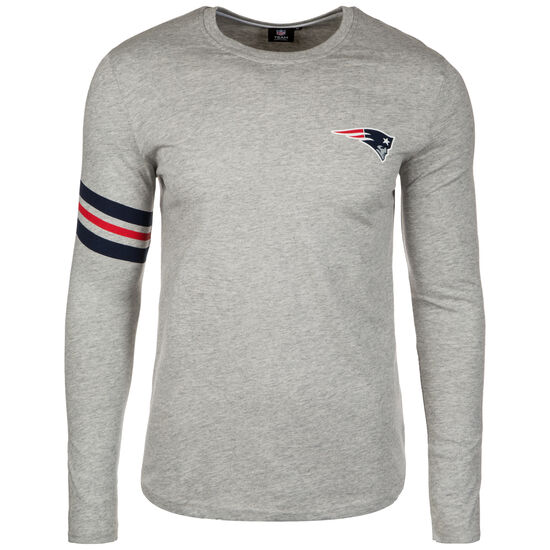 NFL New England Patriots Muscle Fit Longsleeve Herren, Grau, zoom bei OUTFITTER Online