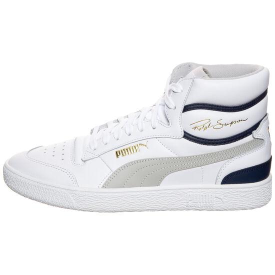 Ralph Sampson Mid Sneaker, weiß / violett, zoom bei OUTFITTER Online