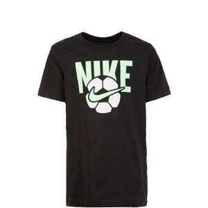 Soccer Ball T-Shirt Kinder, schwarz / weiß, zoom bei OUTFITTER Online