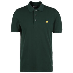 Plain Polo Shirt Herren, grün, zoom bei OUTFITTER Online