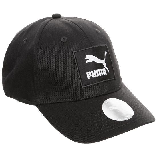 Archive Logo Label Strapback Cap, schwarz, zoom bei OUTFITTER Online
