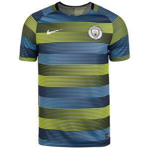 Manchester City Dry Squad GX Trainingsshirt Herren, Gelb, zoom bei OUTFITTER Online