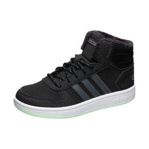 Hoops Mid 2.0 Sneaker Kinder, schwarz / grau, zoom bei OUTFITTER Online