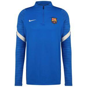 FC Barcelona Strike Drill Trainingssweat Herren, blau / weiß, zoom bei OUTFITTER Online