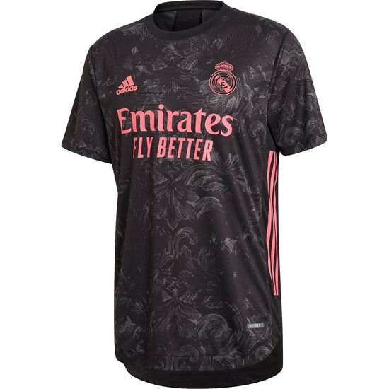 Real Madrid Trikot 3rd Authentic 2020/2021 Herren, schwarz / rot, zoom bei OUTFITTER Online