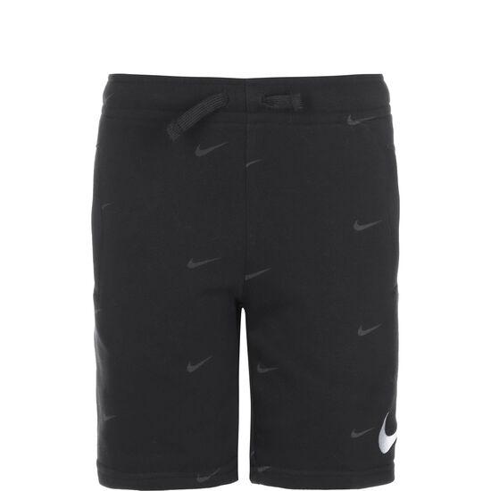 Swoosh Shorts Kinder, schwarz / weiß, zoom bei OUTFITTER Online