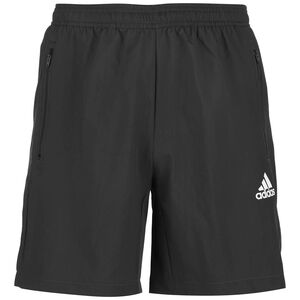 Aeroready Designed To Move Woven Trainingsshorts Herren, dunkelgrau, zoom bei OUTFITTER Online