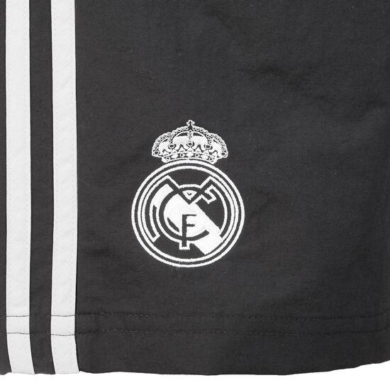 Real Madrid Trainingsshort Herren, schwarz / weiß, zoom bei OUTFITTER Online