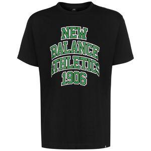 Athletics Varsity Spec T-Shirt Herren, schwarz, zoom bei OUTFITTER Online