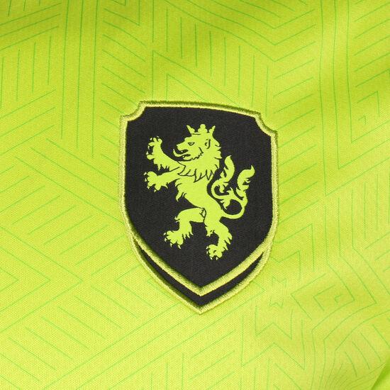 FACR Tschechien Trikot Away EM 2020 Herren, hellgrün / schwarz, zoom bei OUTFITTER Online
