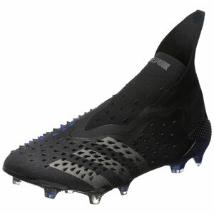 Predator Freak + FG Fußballschuh Herren, schwarz / blau, zoom bei OUTFITTER Online