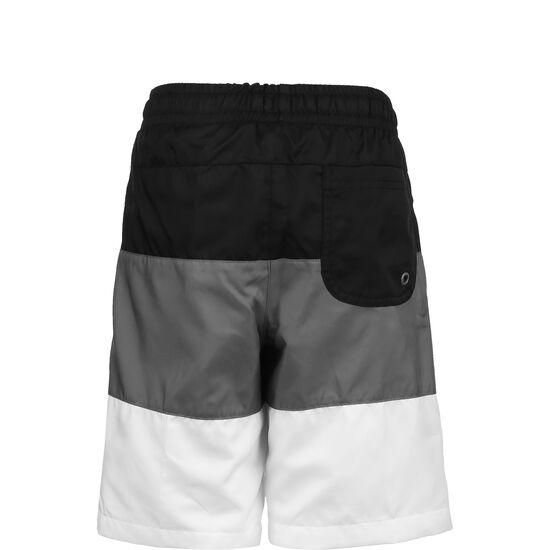 Woven Block Short Kinder, schwarz / dunkelgrau, zoom bei OUTFITTER Online
