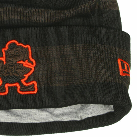 NFL Cleveland Browns Sideline Tech Knit Beanie, , zoom bei OUTFITTER Online