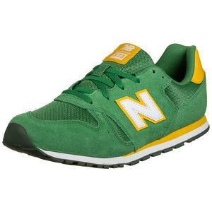 YC373 Sneaker Kinder, grün / gelb, zoom bei OUTFITTER Online
