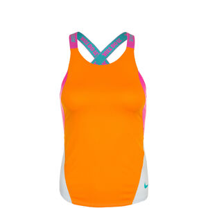 Dry Elastika Trainingstank Kinder, orange / pink, zoom bei OUTFITTER Online