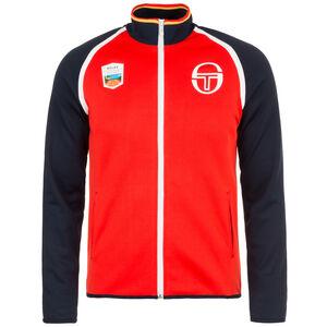 Celaya Staff Tracktop Jacke Herren, rot / dunkelblau, zoom bei OUTFITTER Online