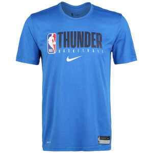 NBA Oklahoma City Thunder Practice Graphic T-Shirt Herren, blau, zoom bei OUTFITTER Online