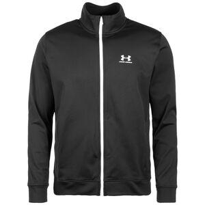 Sportstyle Tricot Jacket Trainingsjacke Herren, schwarz, zoom bei OUTFITTER Online