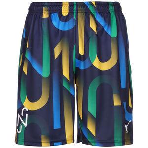 Neymar Hero Future Printed Shorts Herren, dunkelblau / gelb, zoom bei OUTFITTER Online